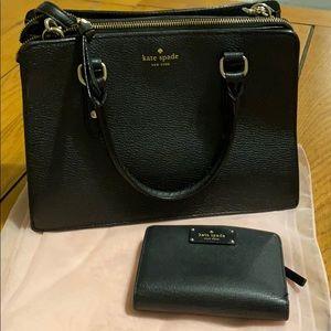 Kate spade messenger bag and wallet